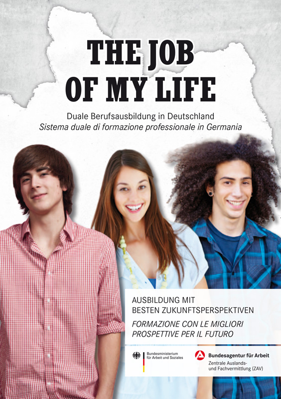 The Job of my Life Brochure italiano deutsch-1
